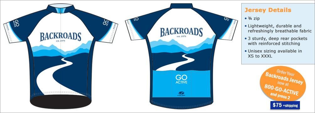 Backroads Bike Jersey